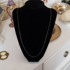 Beautiful 30' 925 silver necklace